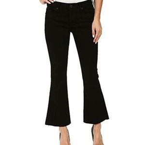 Hudson Mid Rise Cropped Mia 5 Pocket Flared